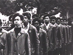 Black Panther Party Members in uniform