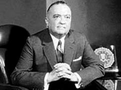 J. Edgar Hoover, Director of the FBI