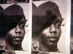 Poster of Bobby Hutton after he was murdered