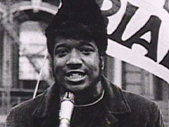 Fred Hampton, head of the Chicago Illinois Panthers
