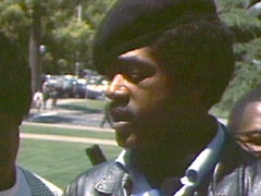 Bobby Seale, Chairman & co-founder of the Black Panther Party